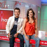Carmen Alcayde y Jorge Javier Vázquez