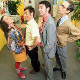 Cuatro protagonistas de 'Camera Café'