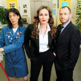 Juana Cordero, Ana Milán y Álex O'Dogherty en 'Camera Café'