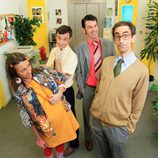 Cuatro personajes de 'Camera Café'