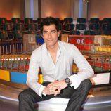 Jorge Fernández en su plató