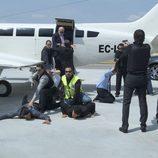 Avión en 'El comisario'