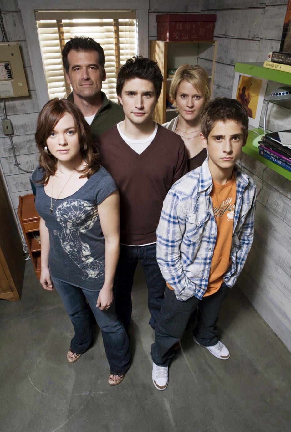 Los Trager en la segunda temporada de 'Kyle XY'