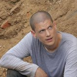Wentworth Miller actuando en 'Prison Break'