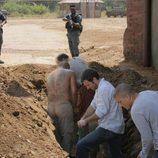 Presos excavando en 'Prison Break'