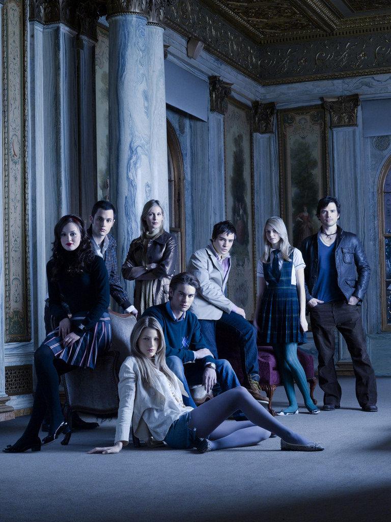 Protagonistas de 'Gossip Girl'