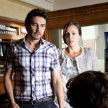 Martín y Olimpia se enfrentan a Sandra