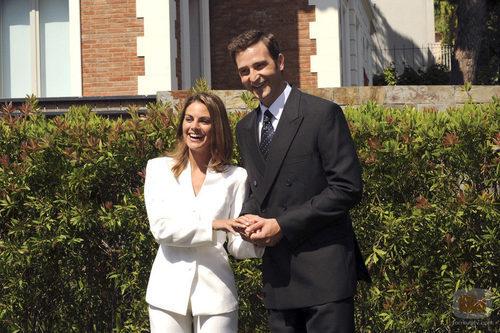 Amaia Salamanca y Fernando Gil en Barcelona