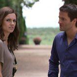 Norma habla con Fernando en 'Gavilanes'