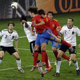 El cabezazo de Puyol nos mete en la final del Mundial 2010