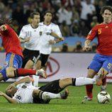 Puyol, estrella de la semifinal del Mundial 2010