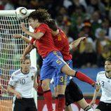 El cabezazo de Puyol en la semifinal del Mundial
