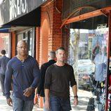 Sam y Callen andando