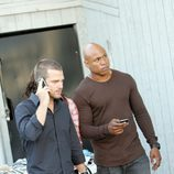 Callen y Sam, en 'NCIS: Los Angeles'