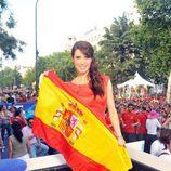 Pilar Rubio, con la Selección