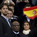 Pau Gasol con la Selección