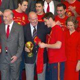 El Rey, la Copa del Mundo y Casillas