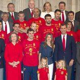 La Selección Española en el Palacio Real