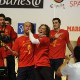 Pepe Reina canta con David Bisbal