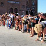 Castings de 'Fama Revoltion' en Madrid, el dragón