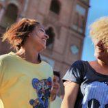 Iraida y Marisa en el casting de 'Fama Revolution'