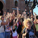 Grabación del casting de 'Fama Revolution' en Madrid