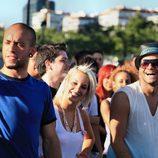 Mery, Nito y Marcos en los castings de 'Fama Revolution'