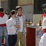 Carlitos, en los Sanfermines