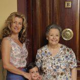 Las tres generaciones de la familia