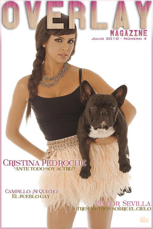 Cristina Pedroche posa para Overlay