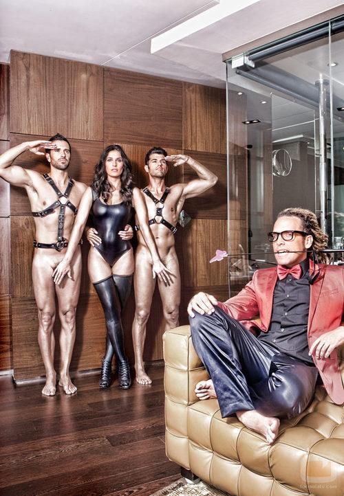 Verónica Hidalgo oculta el sexo de Roberto Liaño y Michel Olivares