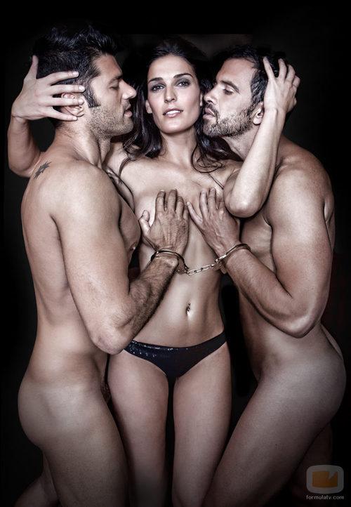 Los desnudos de Michel, Verónica y Roberto