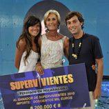 Finalistas de 'Supervivientes 2010'