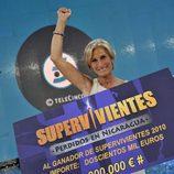 María José Fernández, ganadora de 'Supervivientes 2010'