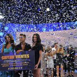 Celebrando la final de 'Supervivientes 2010'