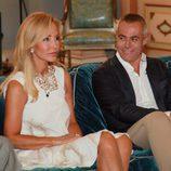 Carmen Lomana y Jordi González en 'Las joyas de la corona'