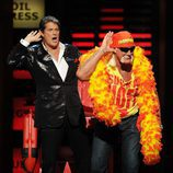 David Hasselhoff y Hulk Hogan