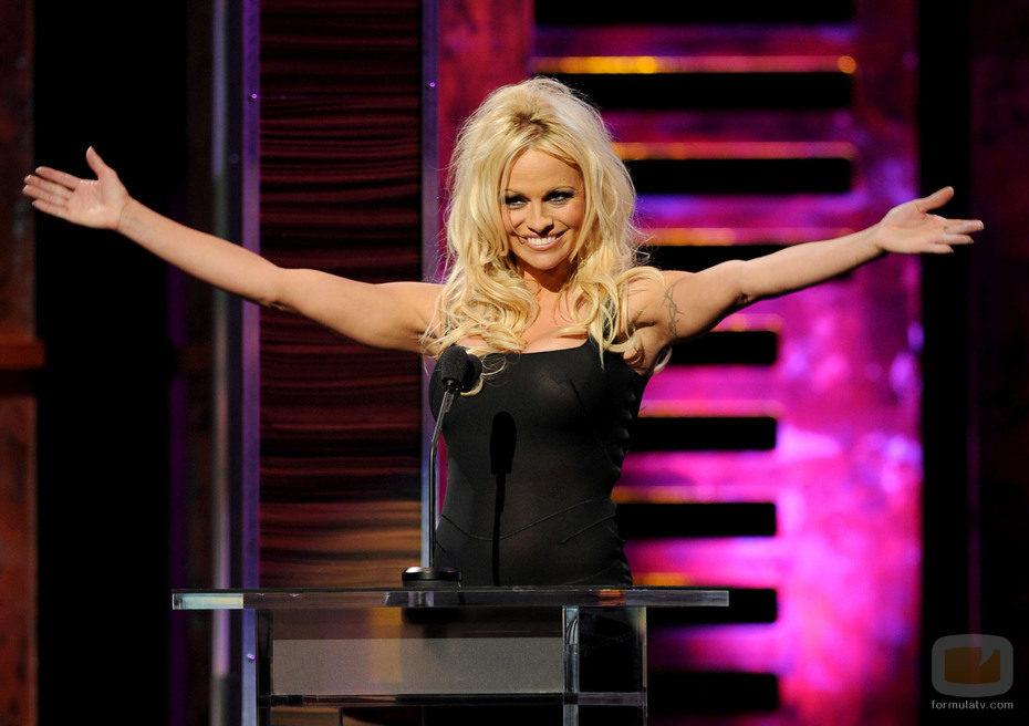 Pamela Anderson en 'The Comedy Central Roast'