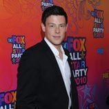 Cory Monteith en la fiesta All Star de FOX