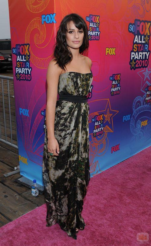 Lea Michele en la fiesta All Star de FOX