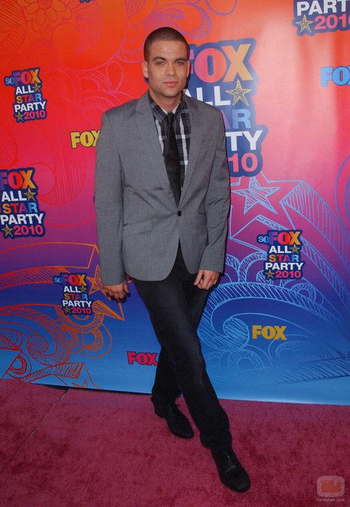 Mark Salling en la fiesta All Star de Fox