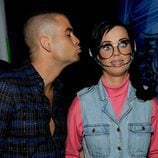 Beso de Mark Salling y Katy Perry