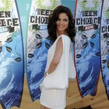 Selena Gomez en los Teen Choice Awards 2010