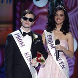 Chris Colfer y Katy Perry