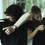 Adam Jezierski (Leo) y Patricia Montero (Ángela)