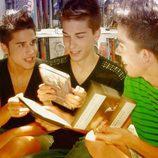 Miguel, Carlos y Alberto, los Trillizos Frigenti