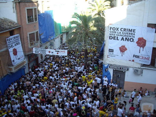Fox Crime en La Tomatina
