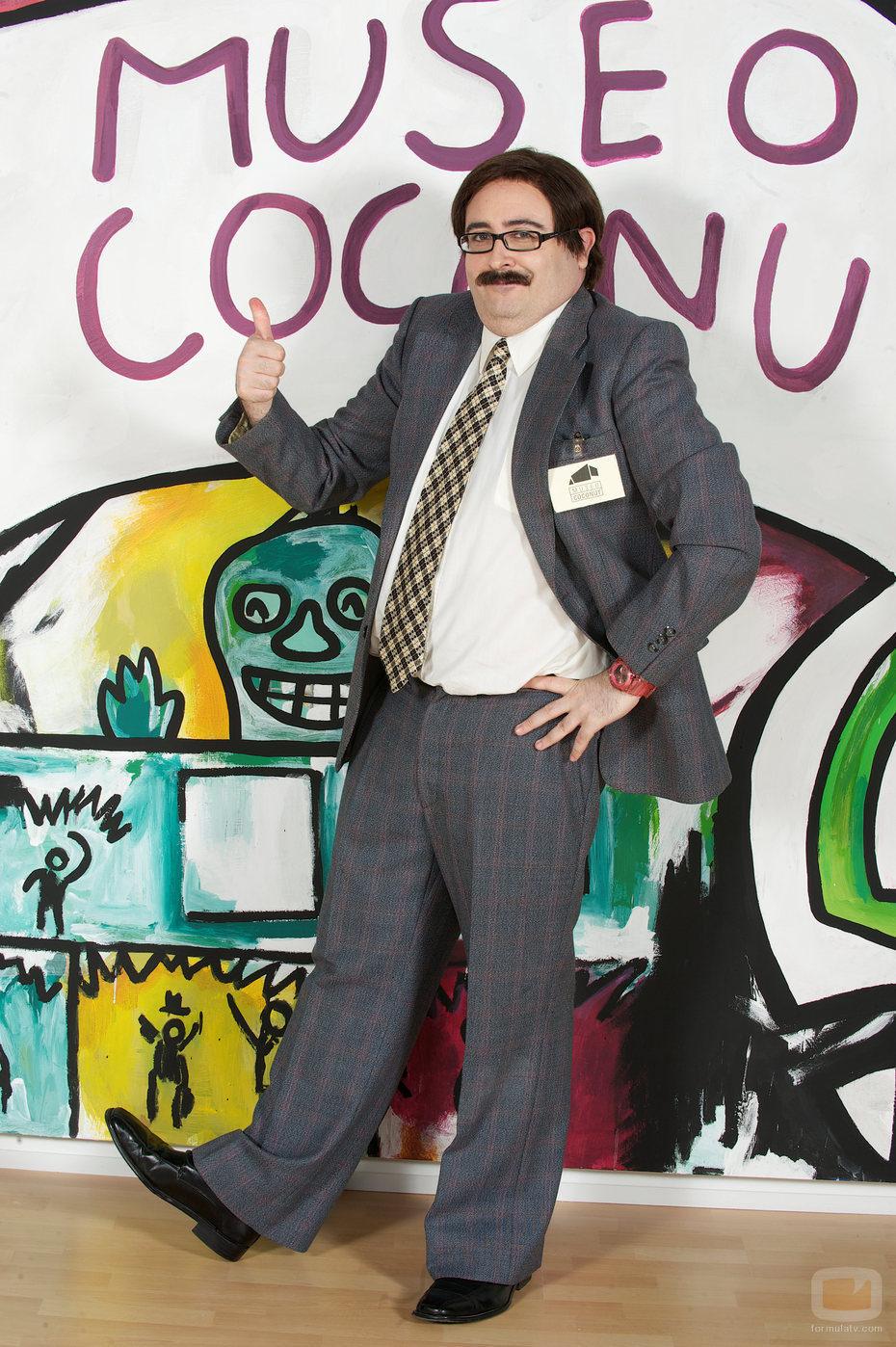 El actor y cómico Carlos Areces en 'Museo Coconut'