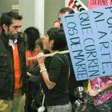 Manifestación en 'La familia Mata'