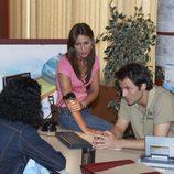 Paula Echevarría y Fernando Andina en 'El comisario'